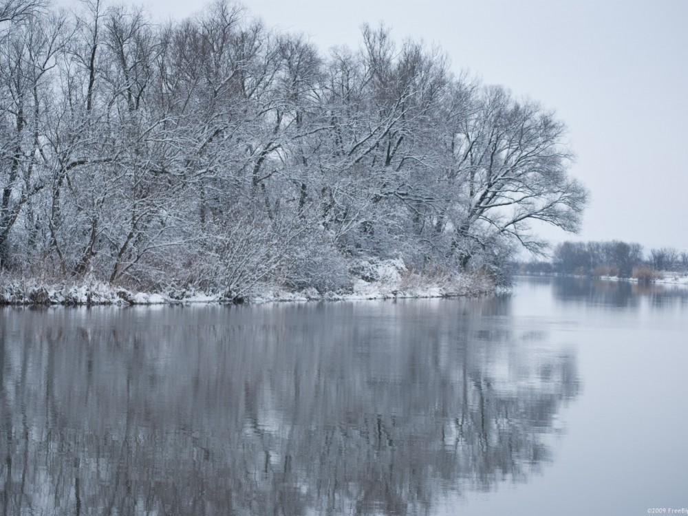 winter-river